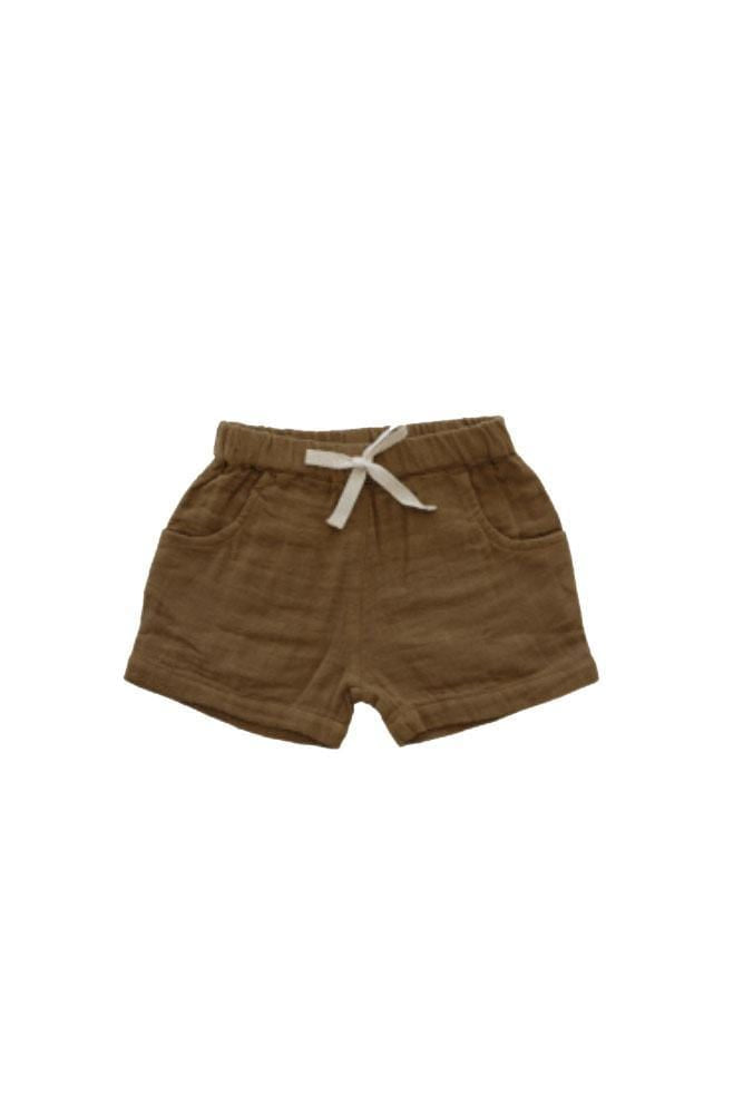 Organic Cotton Muslin Lily Short Bronze