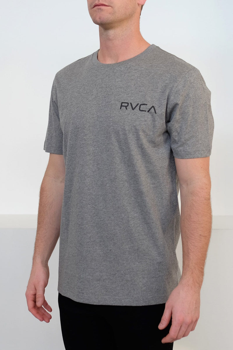 Little RVCA Tee Grey Marle RVCA - Jean Jail