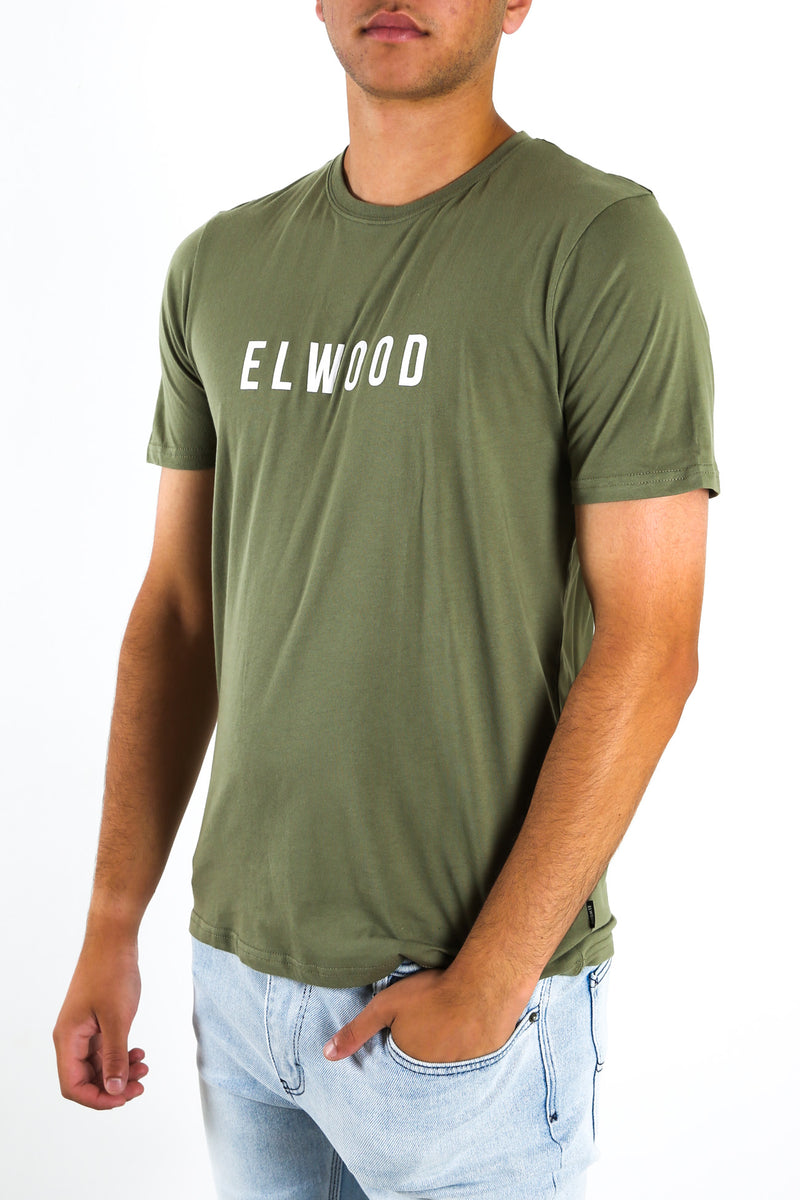 Logo Tee Army Green