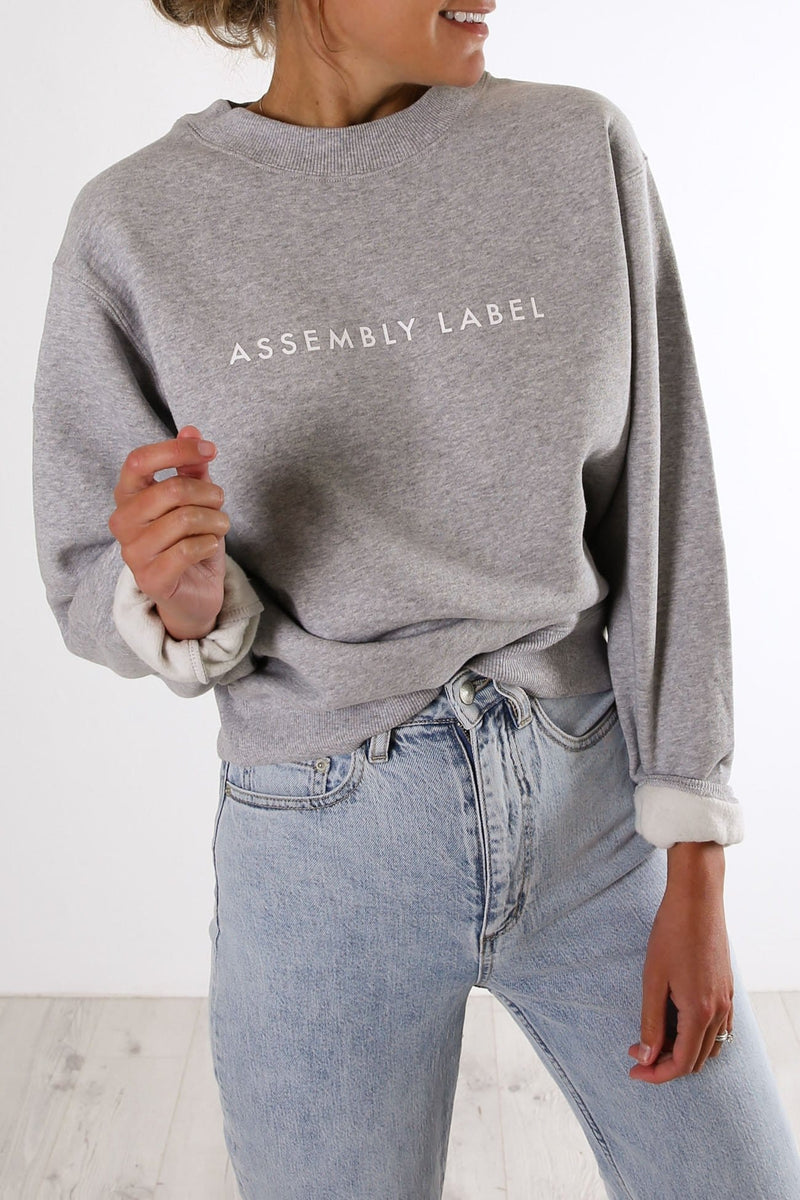 Logo Fleece Grey Marle