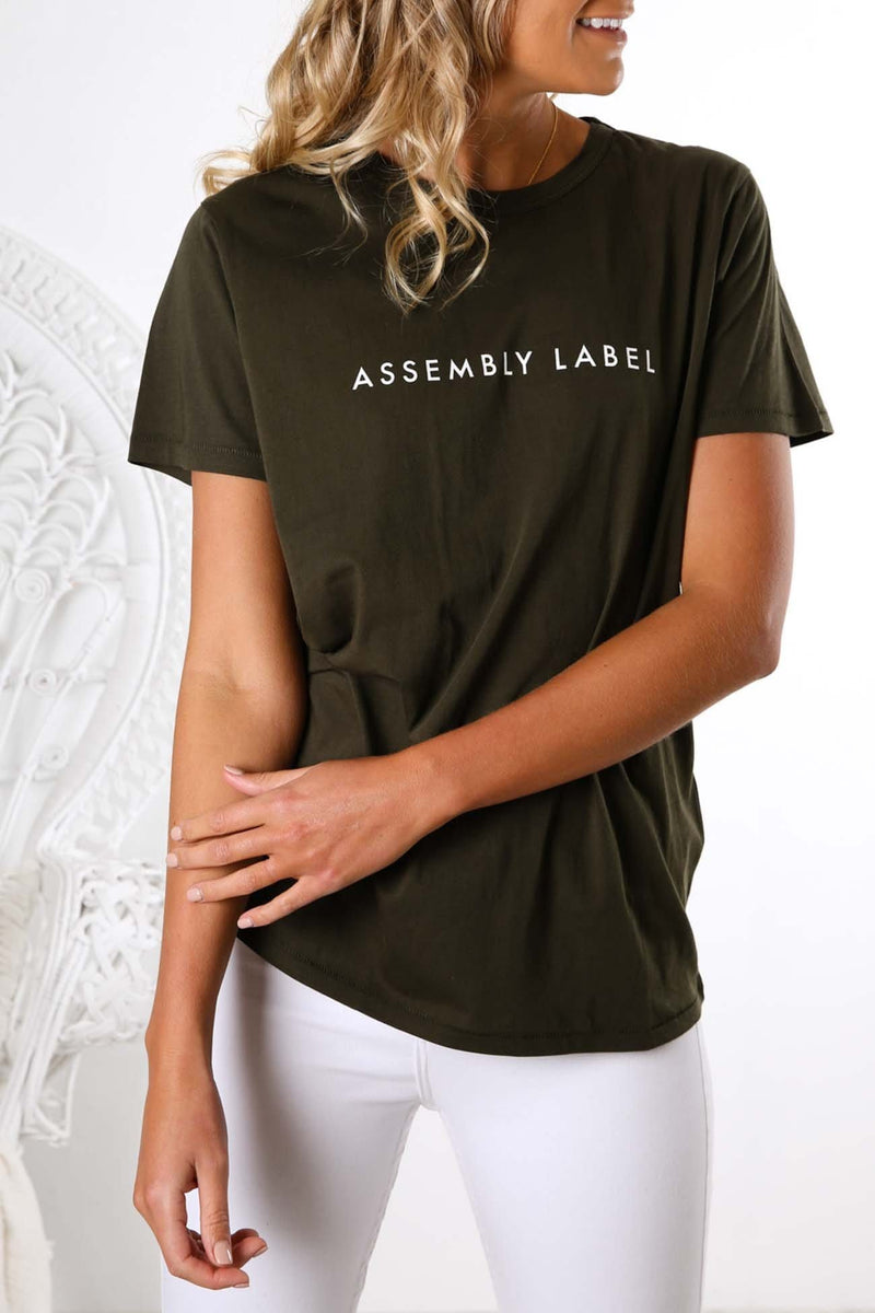 Logo Tee Moss Assembly Label - Jean Jail