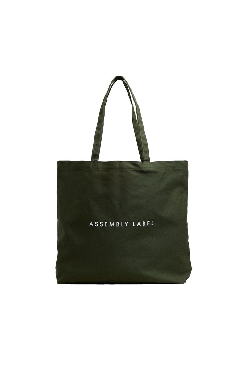 Logo Tote Moss Assembly Label - Jean Jail