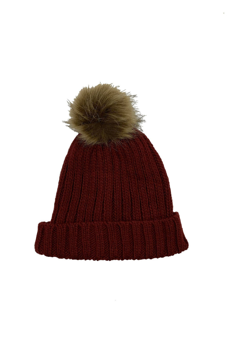 Lola Beanie Deep Red Elwood - Jean Jail
