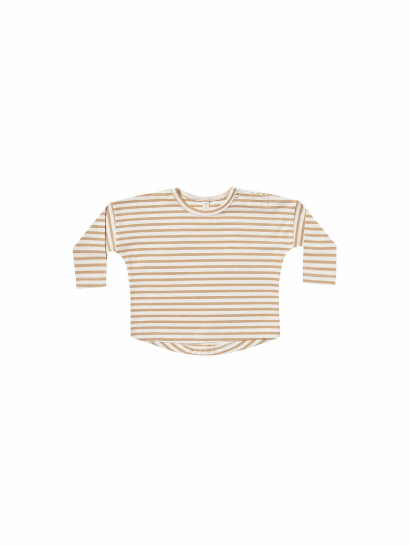 Longsleeve Baby Tee Honey Stripe