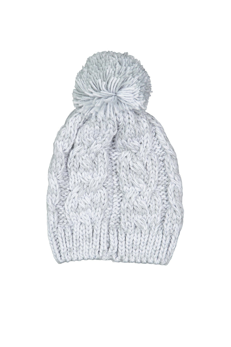 Mermaid Beanie Light Grey Marle Rusty - Jean Jail