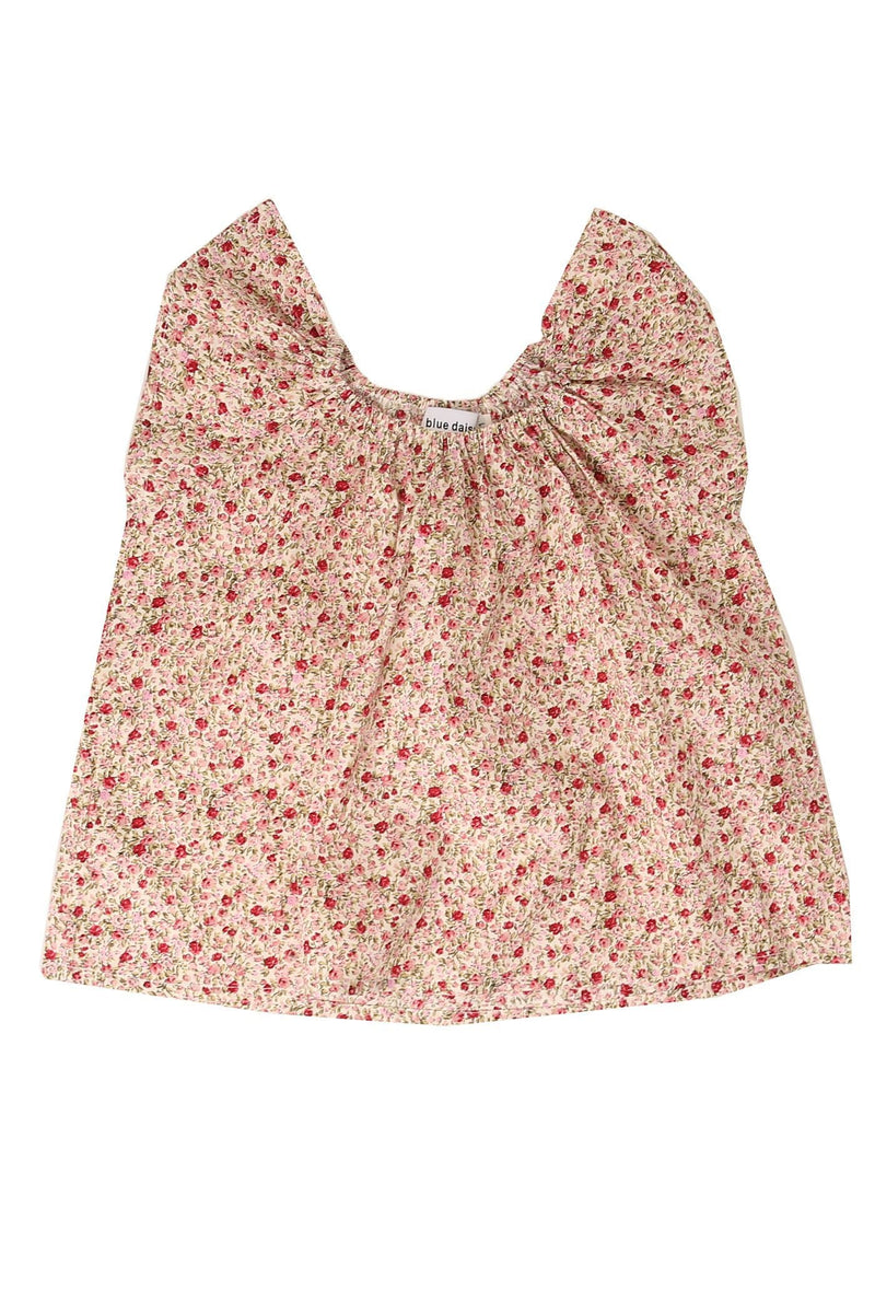 Mimi Blouse Tea Rose Floral