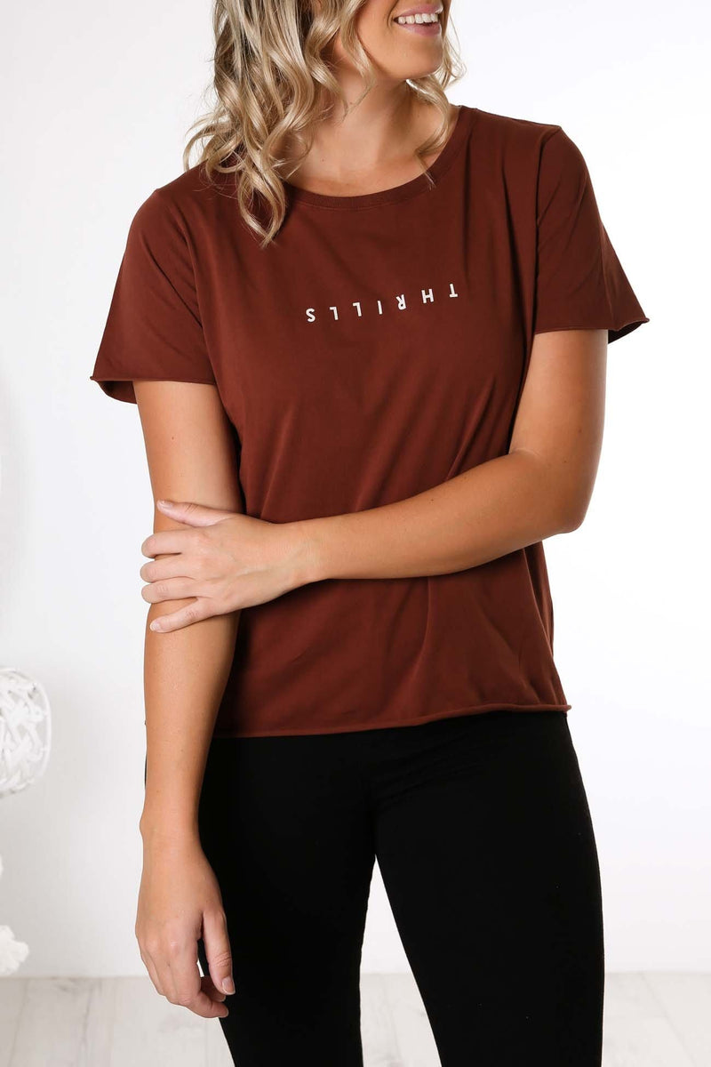 Minimal Thrills Loose Fit Tee Port Thrills - Jean Jail
