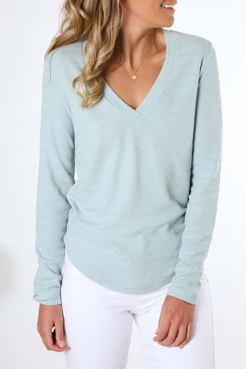Moment Long Sleeve Top Seafoam The Fifth Label - Jean Jail