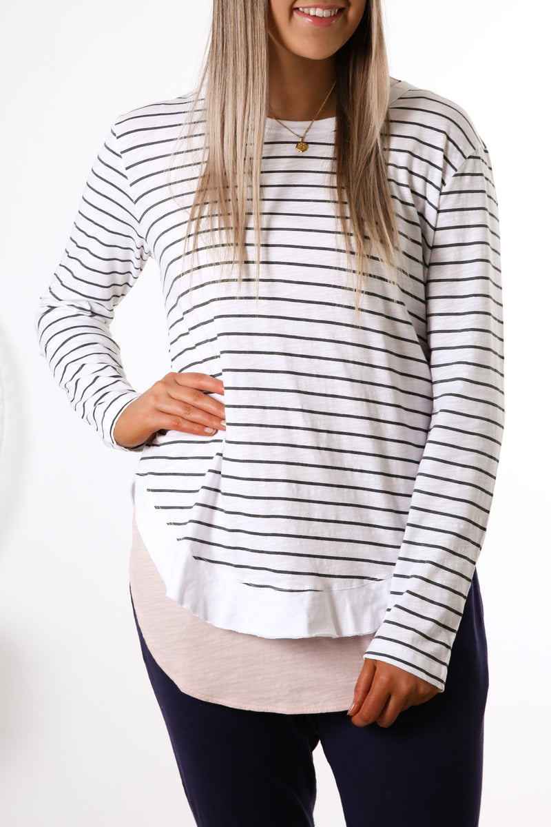 Mosman Long Sleeve Top Stripe
