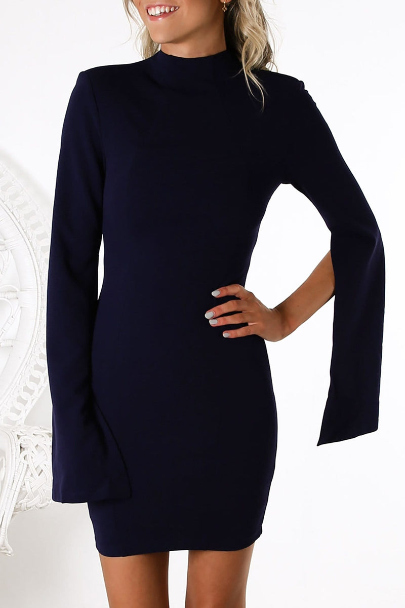 Mourno Dress Navy