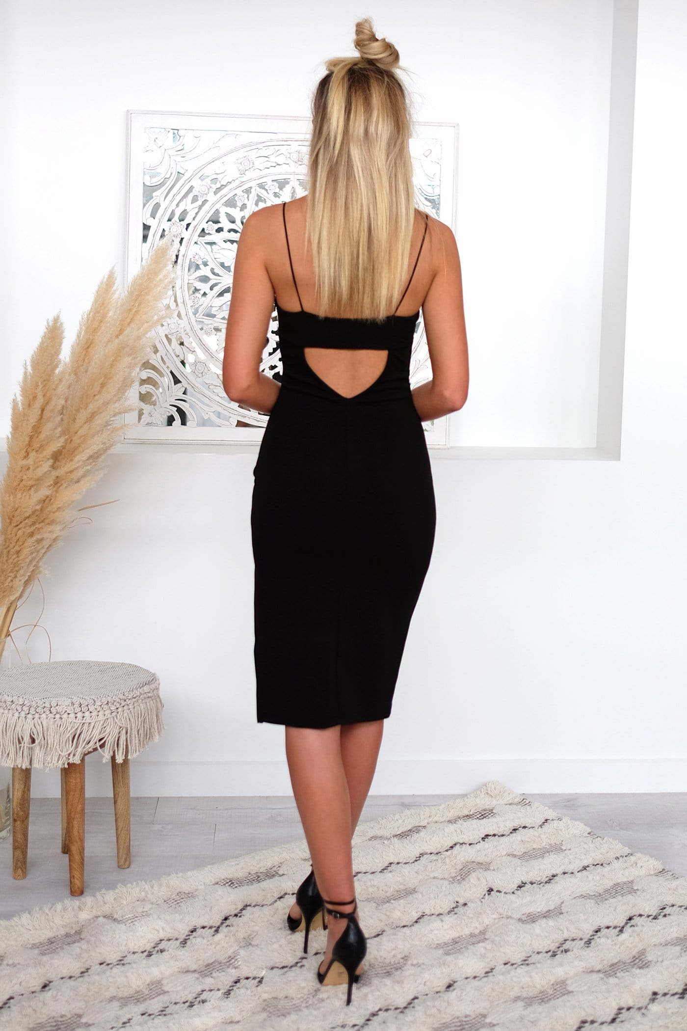 Mumbi Dress Black