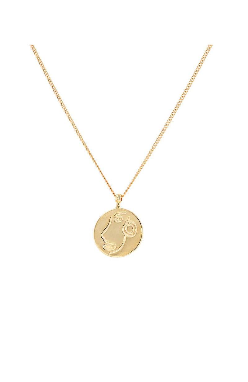 Steph Necklace Gold