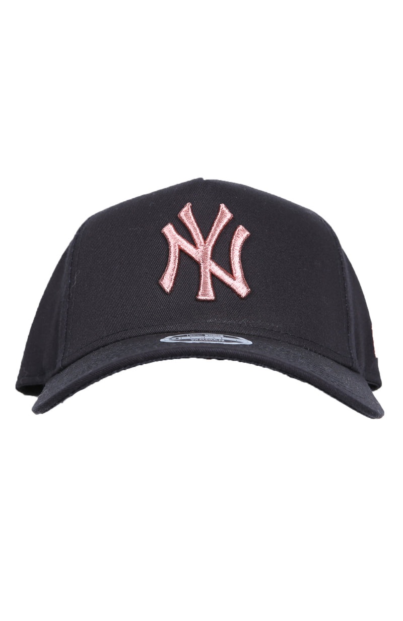 New York Yankees 9FORTY A-Frame Clipback Rose Gold