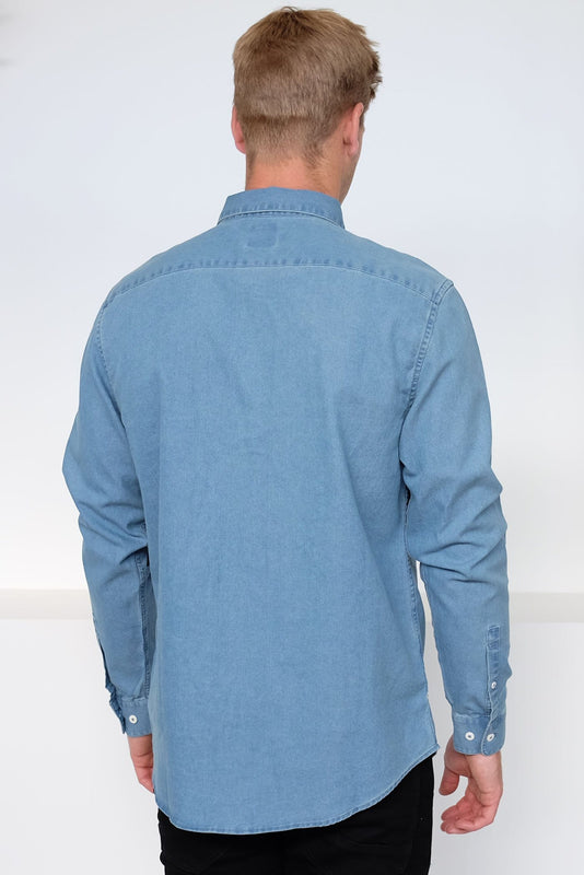 Nakama Long Sleeve Shirt Denim