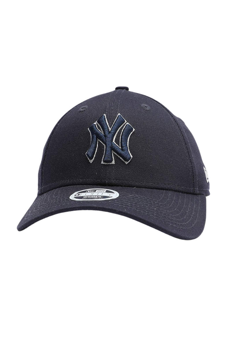 New York Yankees 9FORTY Strapback Navy Silver Lining