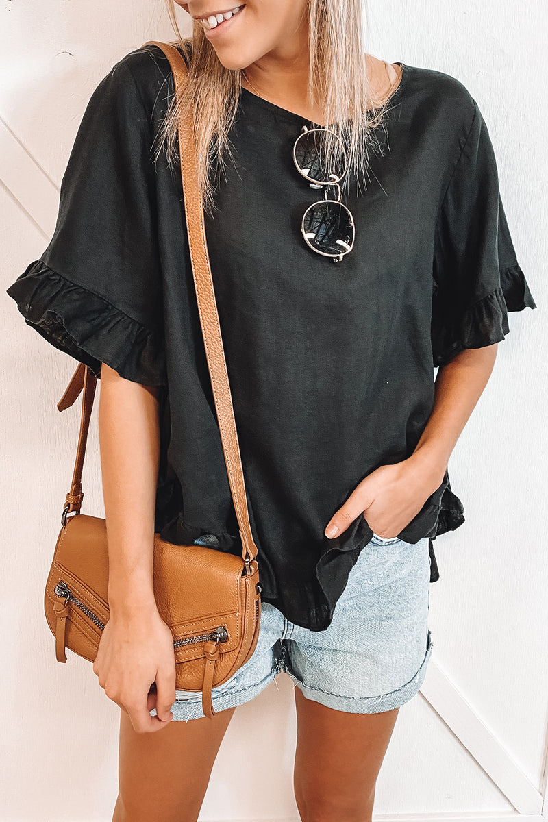 Nikki Top Black