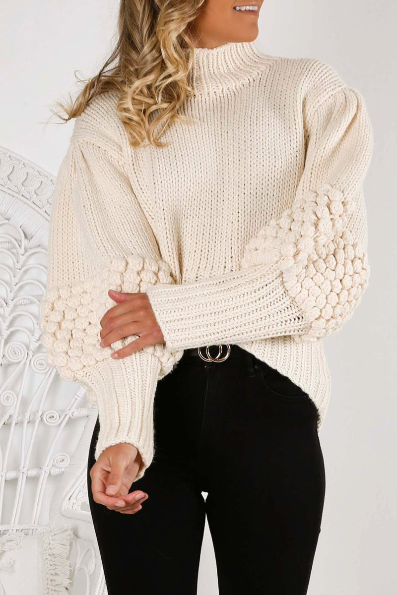 Obsess Knit Jumper Ecru C/MEO COLLECTIVE - Jean Jail