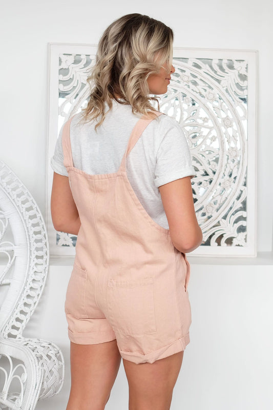 Odyssey Short Overall Pink