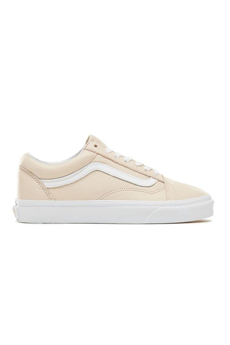 Old Skool Leather Sand Dollar Vans - Jean Jail