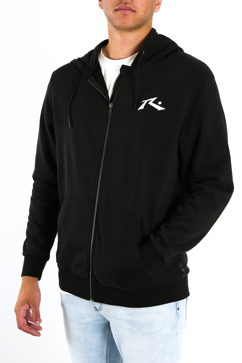 One Hit Wonder Zip Thru Fleece Black