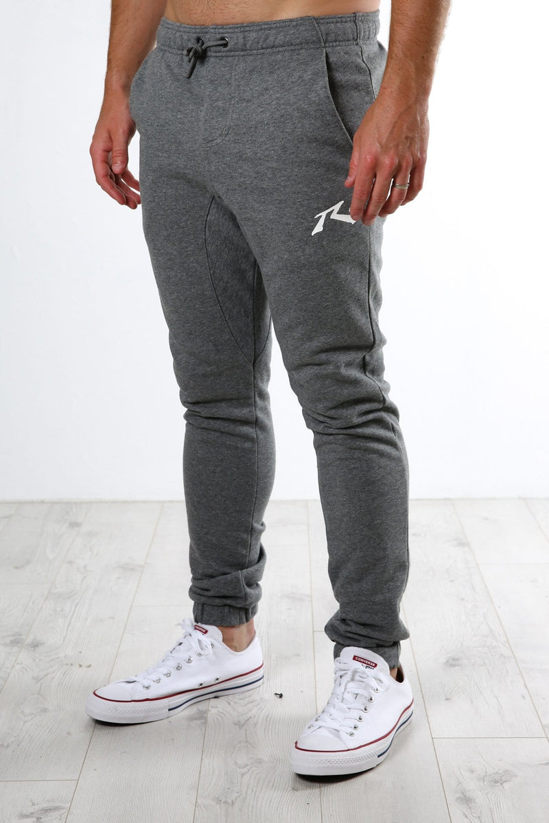 One Hit Wonder Trackpant Dark Grey Marle