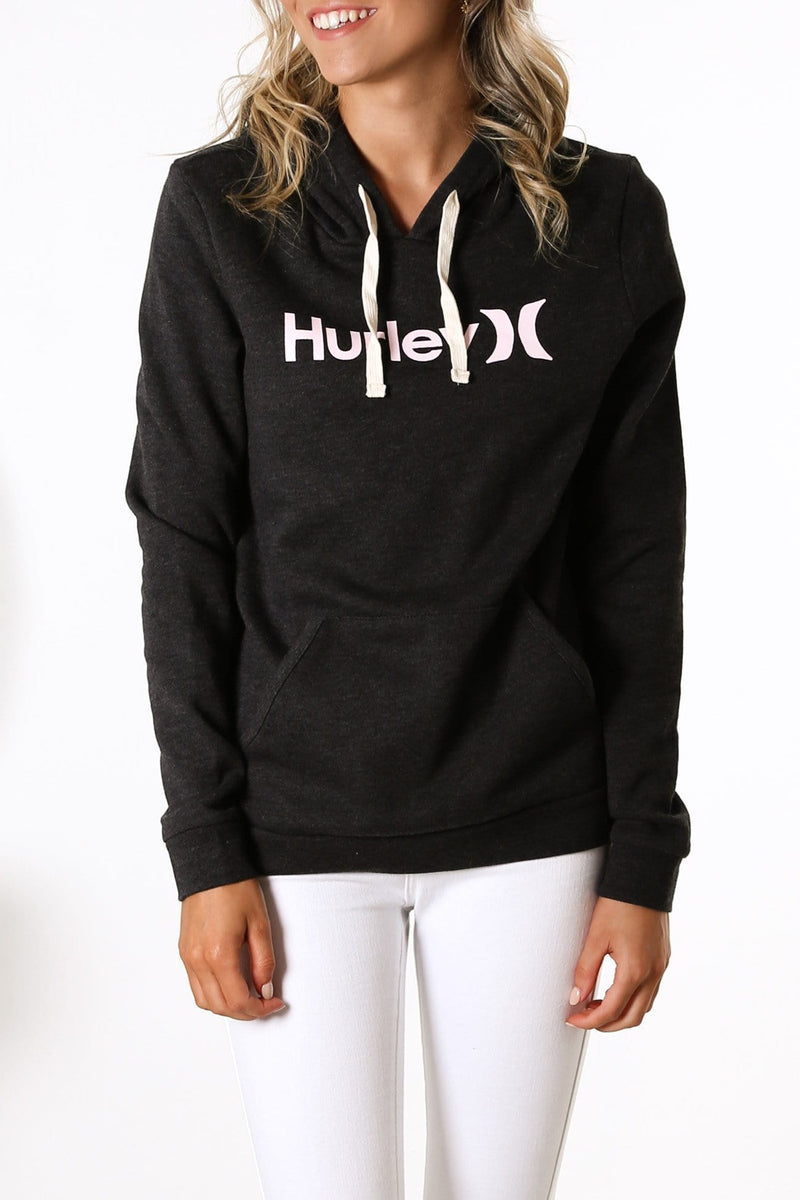 One & Only Pullover Fleece Black Heather