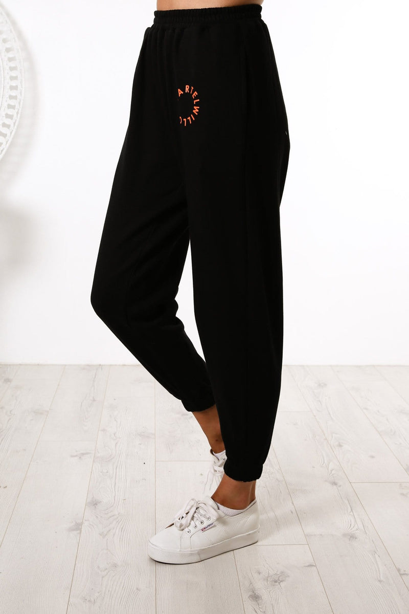 Orbit Logo Track Pant Black