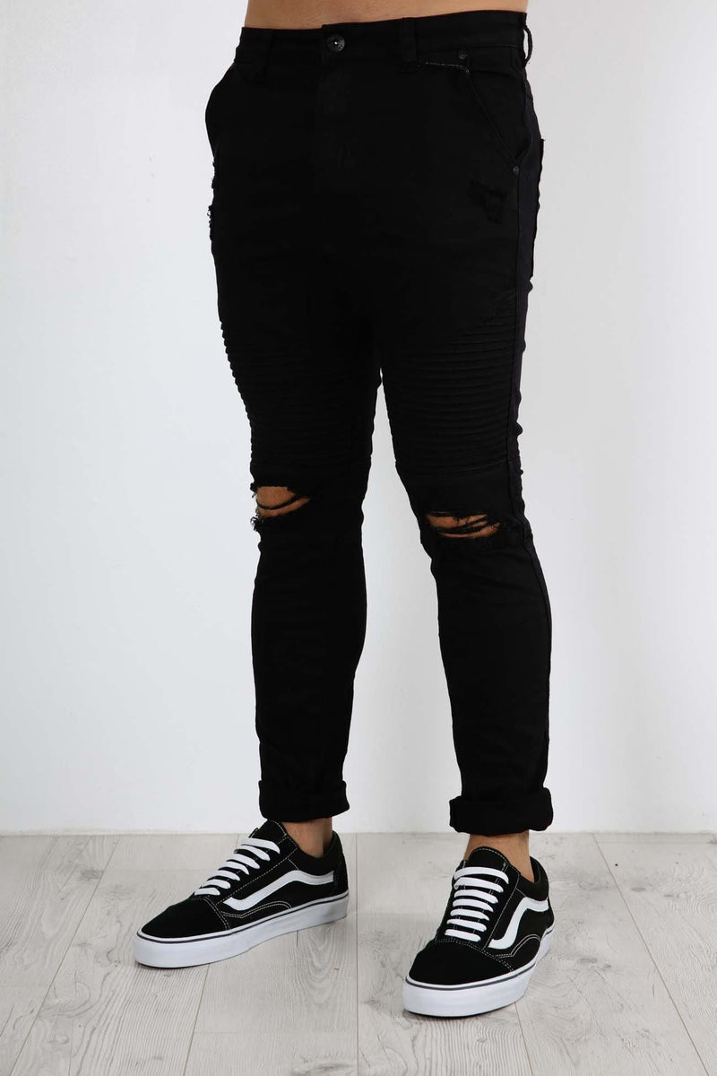 Outlaw Pant Wrecked Black Silent Theory - Jean Jail