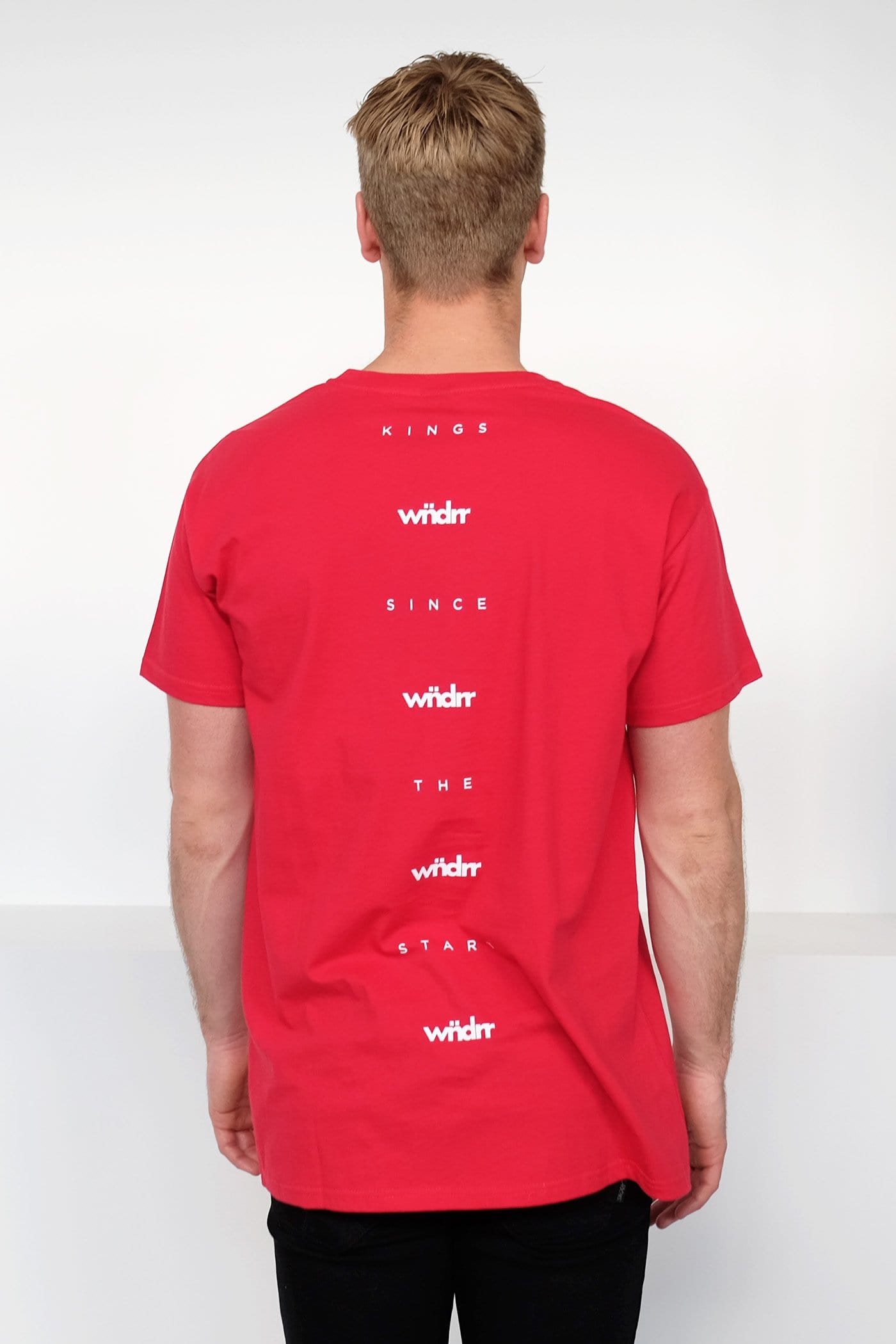Parker Custom Fit Tee Red