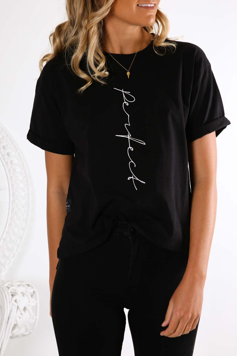 Perfect Tee Black All About Eve - Jean Jail