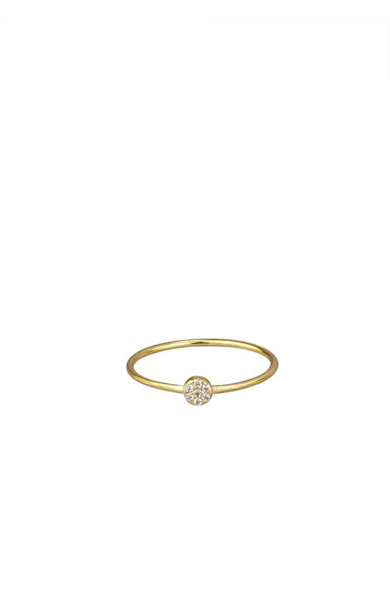 Petite Circle Ring Gold