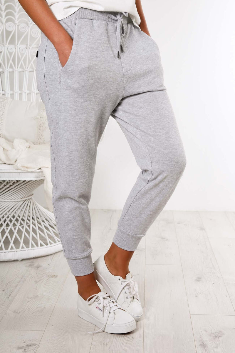 Player Rib Trackie Grey Marle All About Eve - Jean Jail