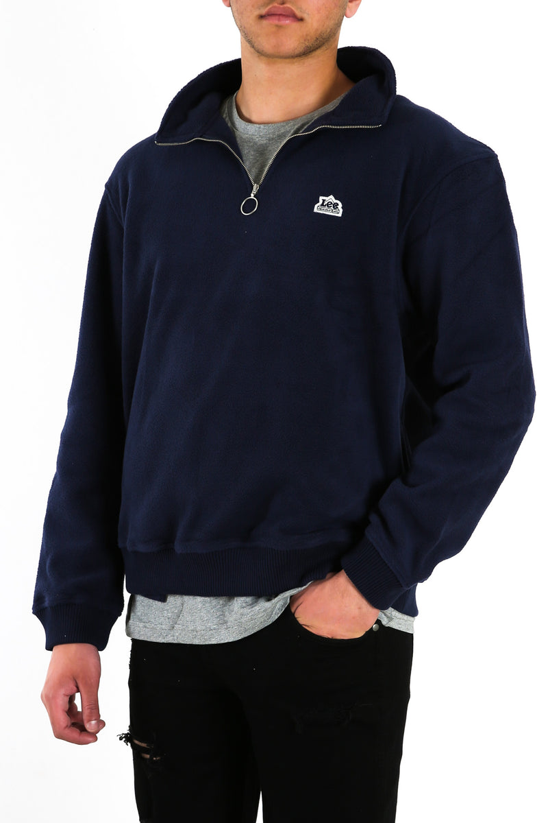 Polar Fleece Zip Sweater