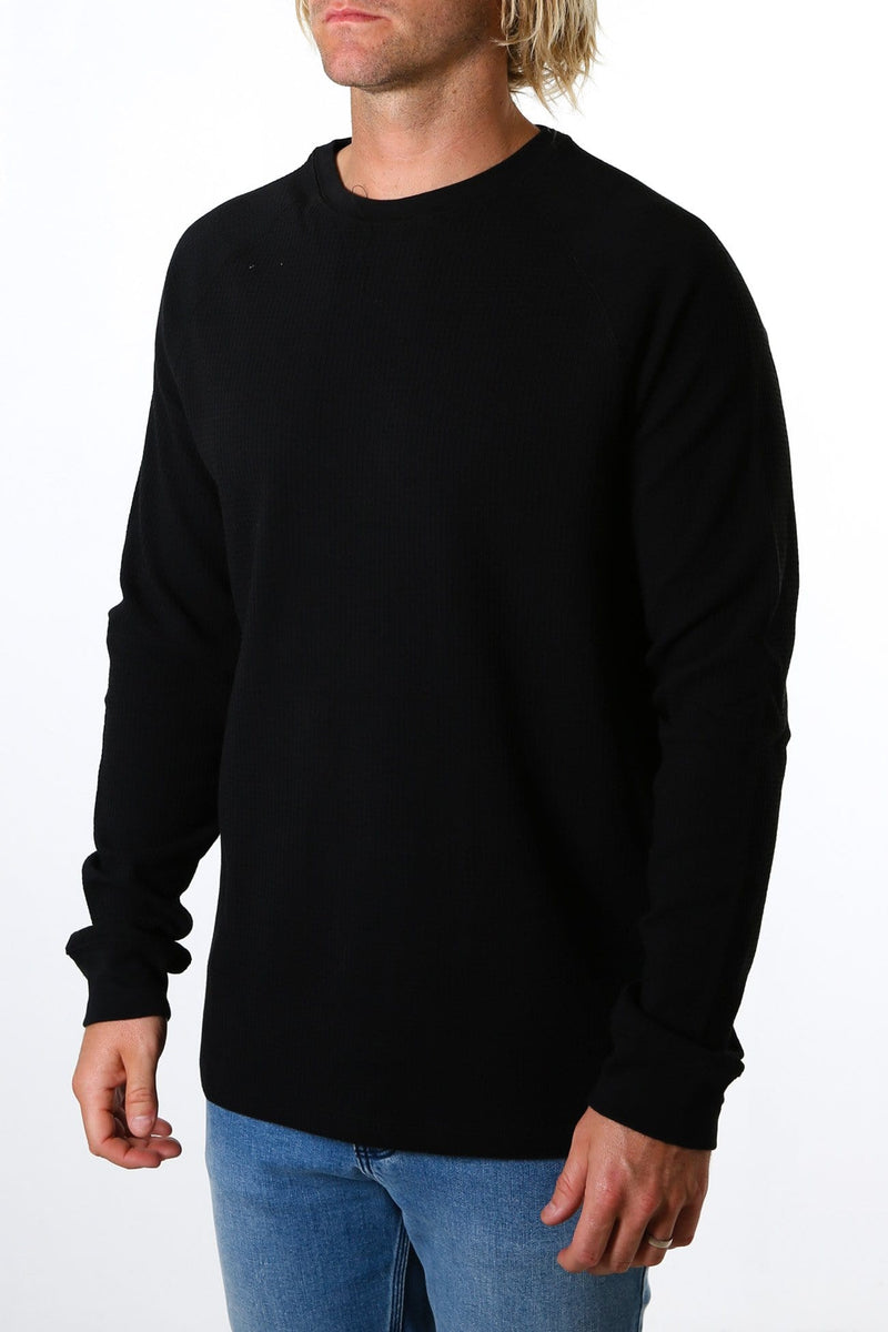 Preston Fleece Transeasonal Dirty Black