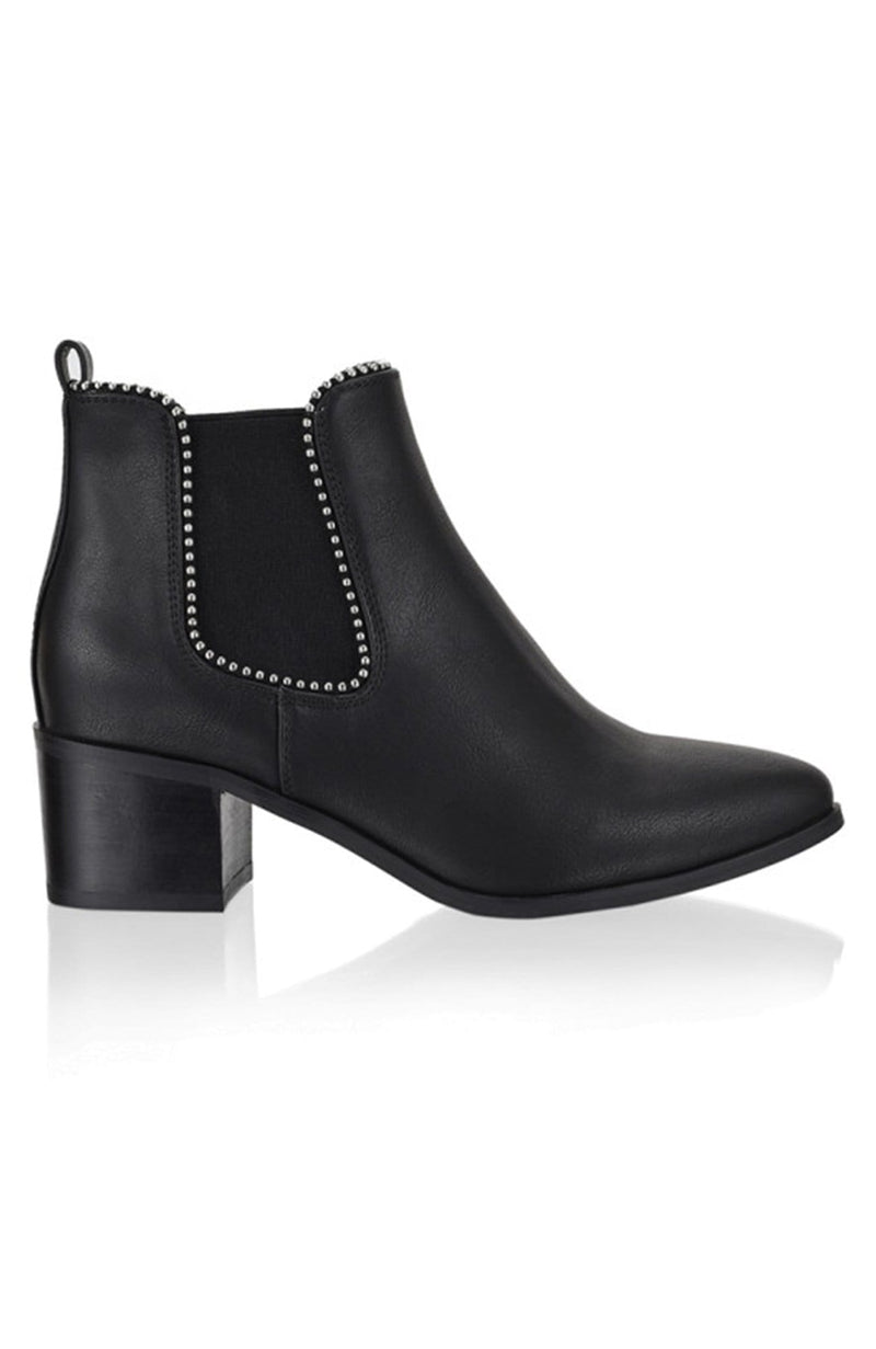 Quinton Boot Black Softee