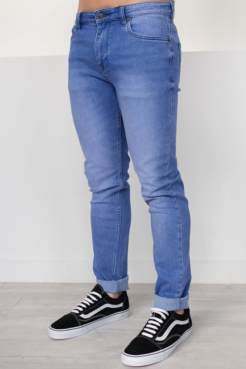 R2 Slim And Narrow Jean Ultra Blue Riders - Jean Jail