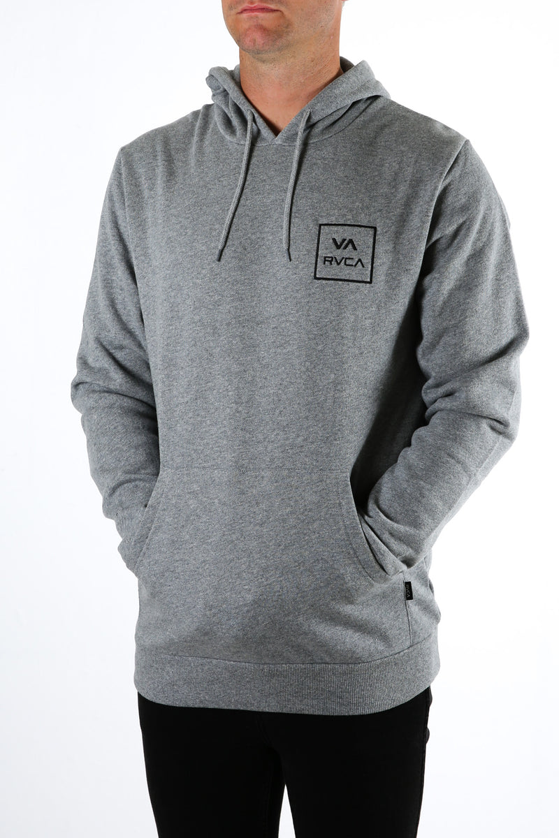 RVCA All The Ways Pullover Grey Marle