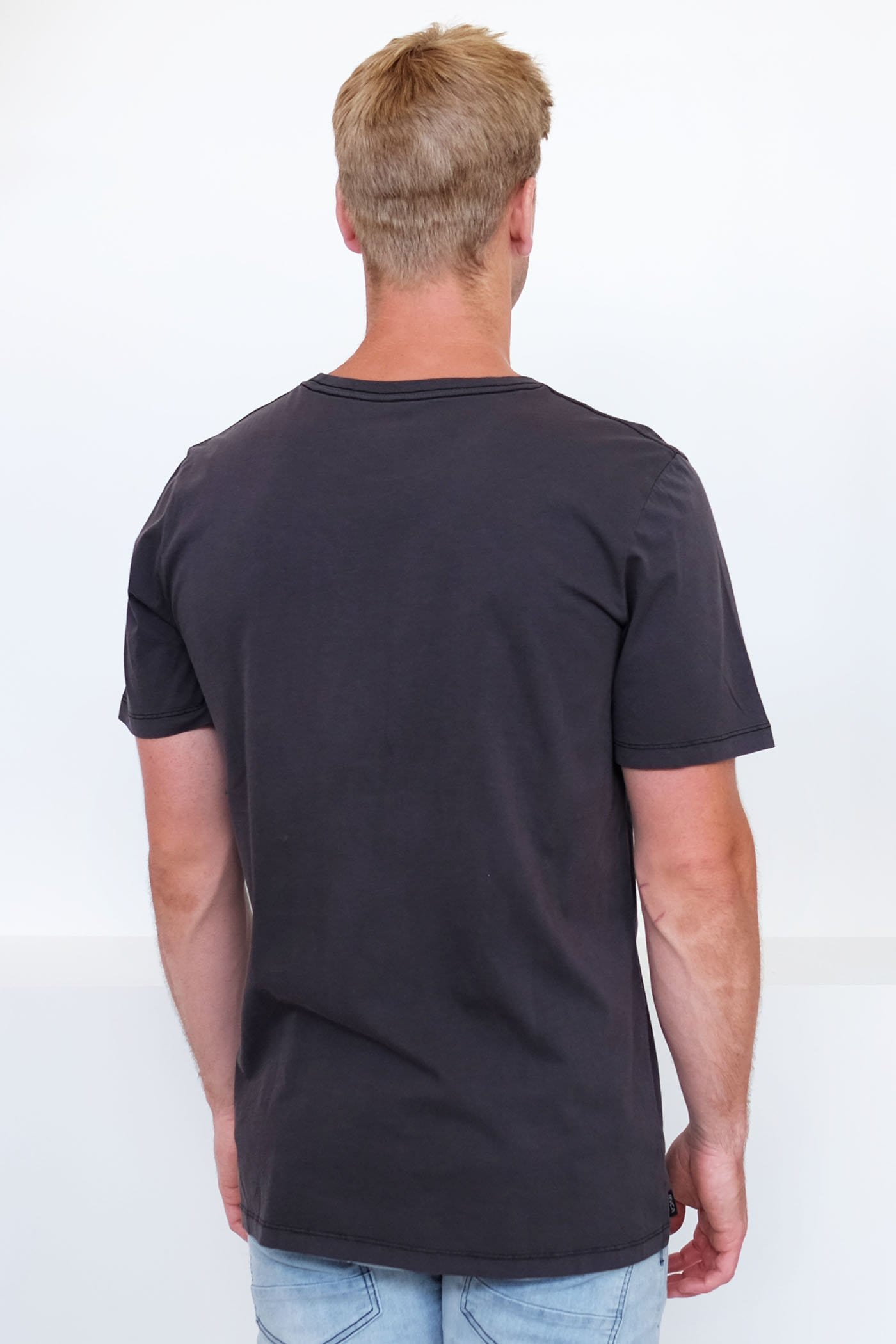 RVCA Samurai Short Sleeve Tee Black
