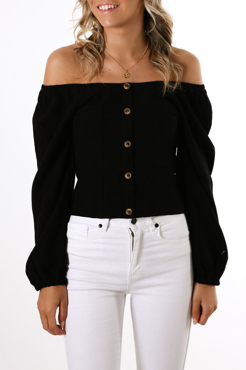 Rainey Top Black