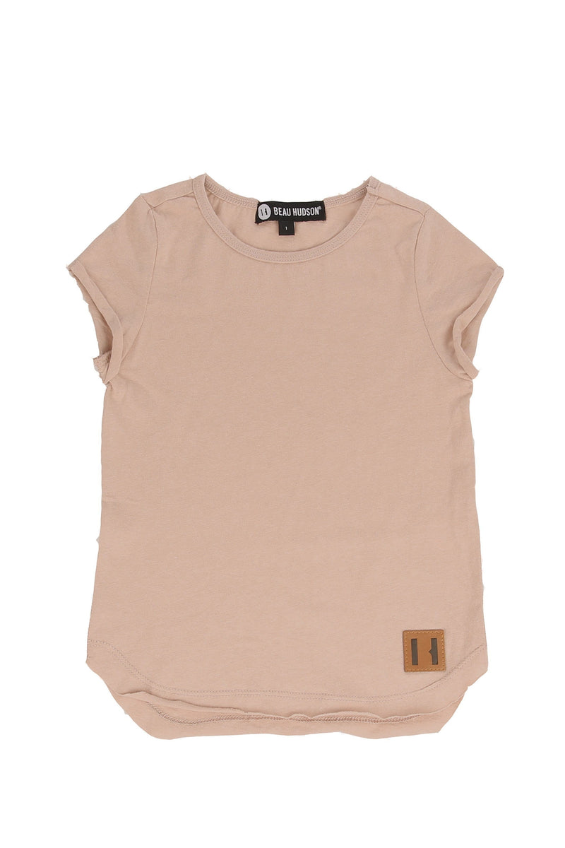 Raw Edge Blush Tall Tee
