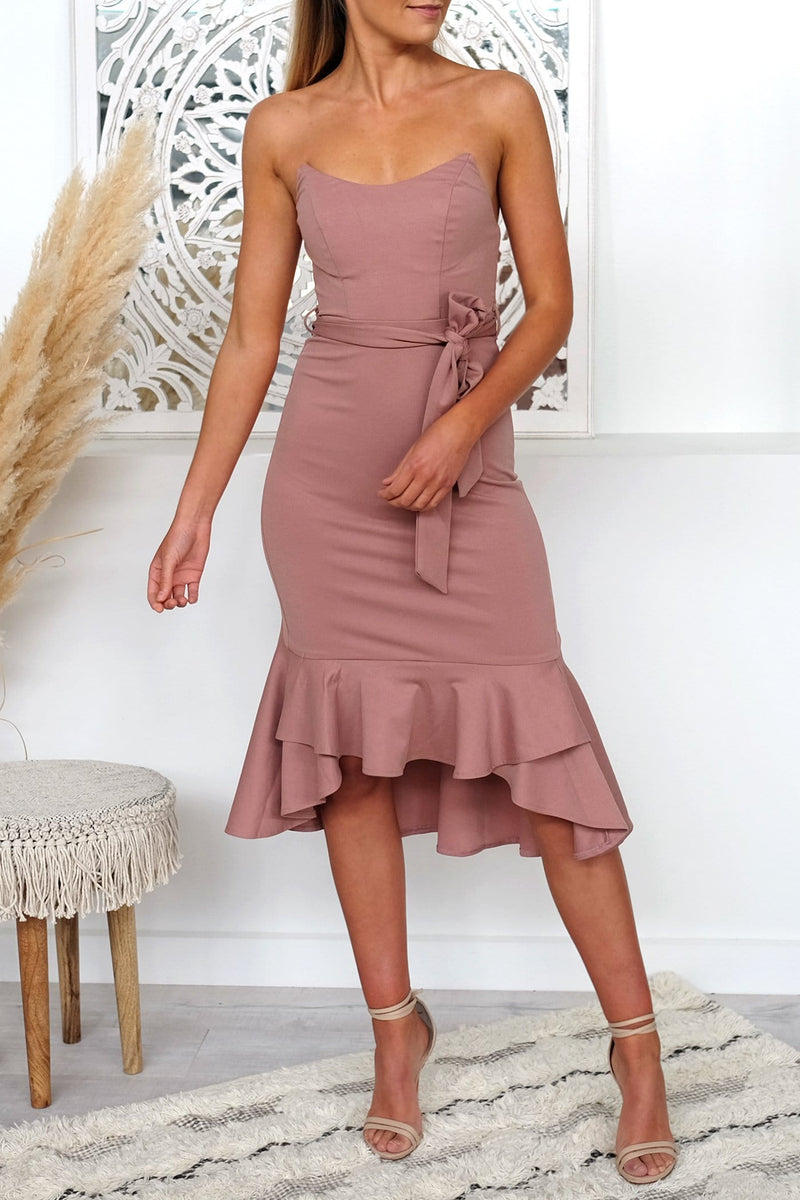 Ready For It Dress Blush