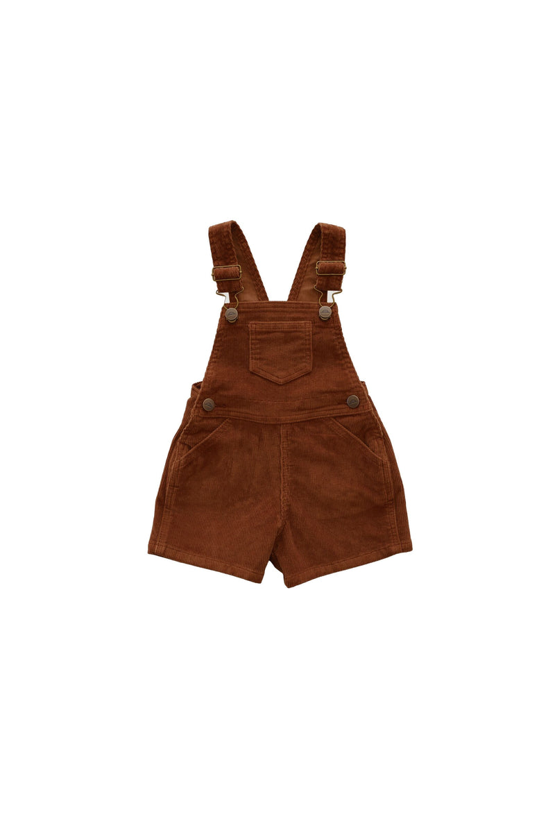 Reign Short Overall Gingerbread