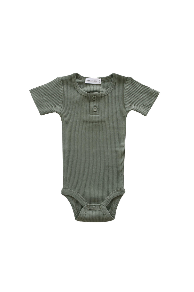 Cotton Modal Tee Bodysuit Laurel