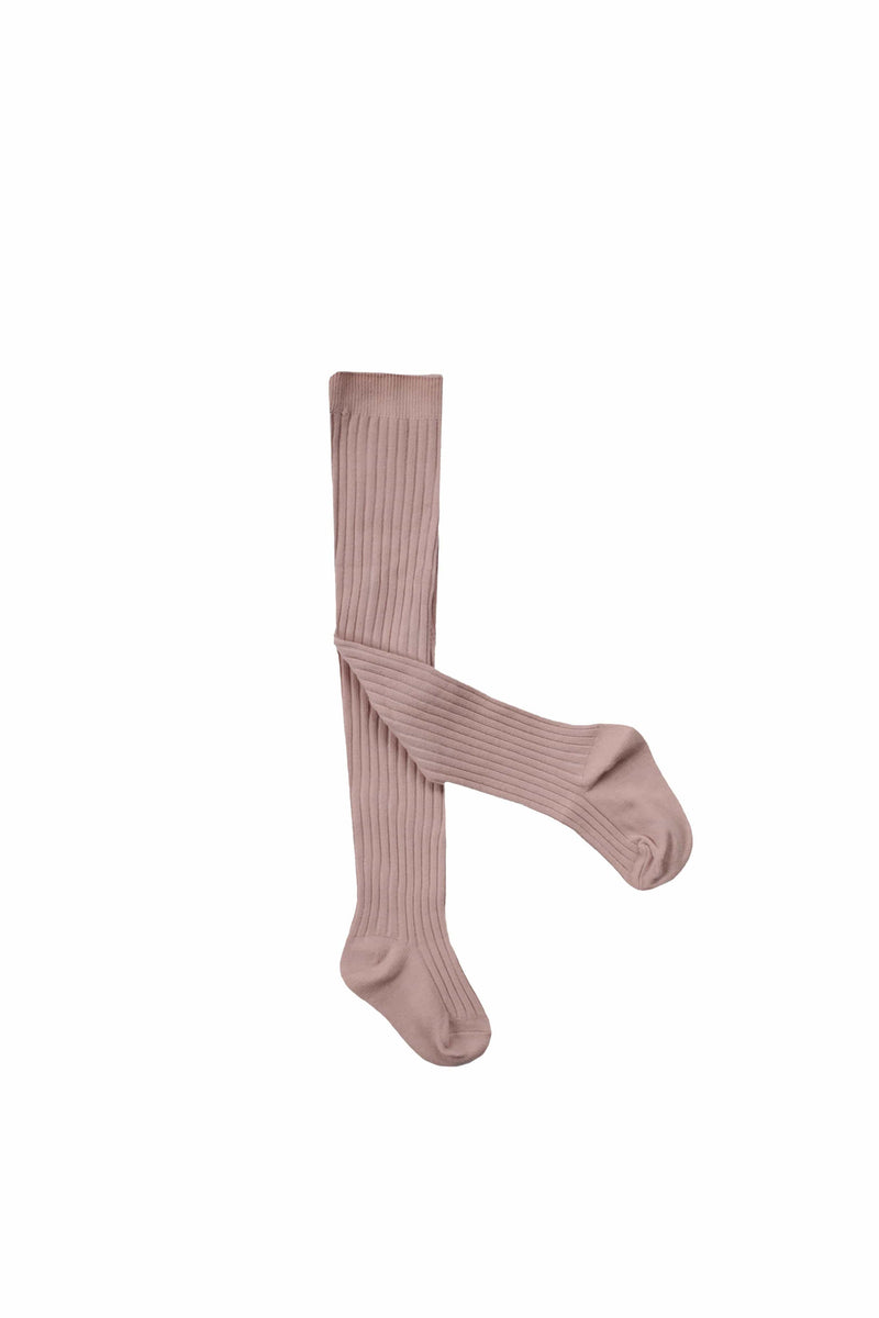 Rib Tights Rosy