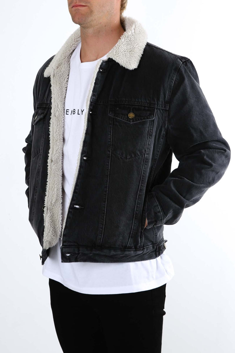 Rollas Denim Sherpa Stone Black Rollas - Jean Jail
