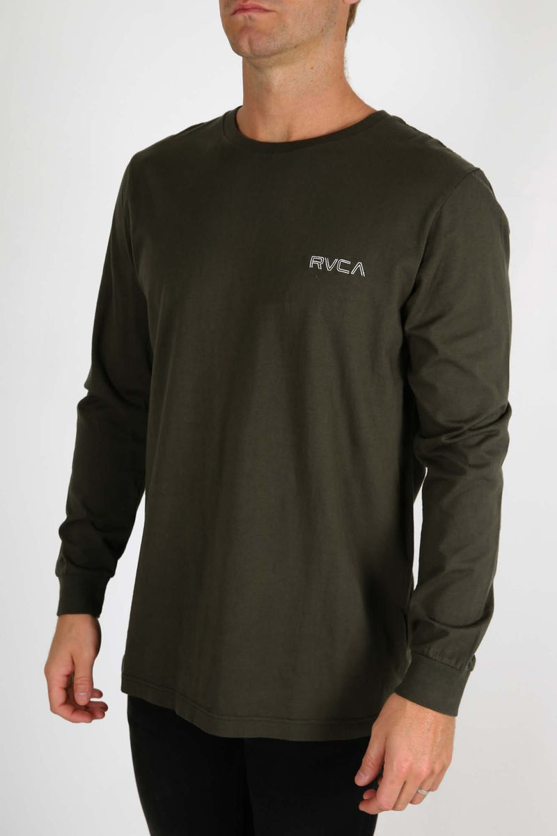 RVCA Keyliner Long Sleeve Tee Forest RVCA - Jean Jail