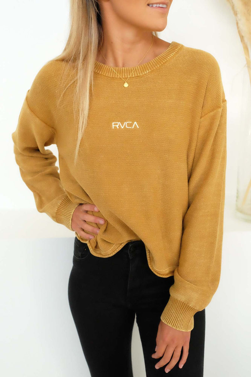 RVCA Pigment Knit Antique Bronze RVCA - Jean Jail