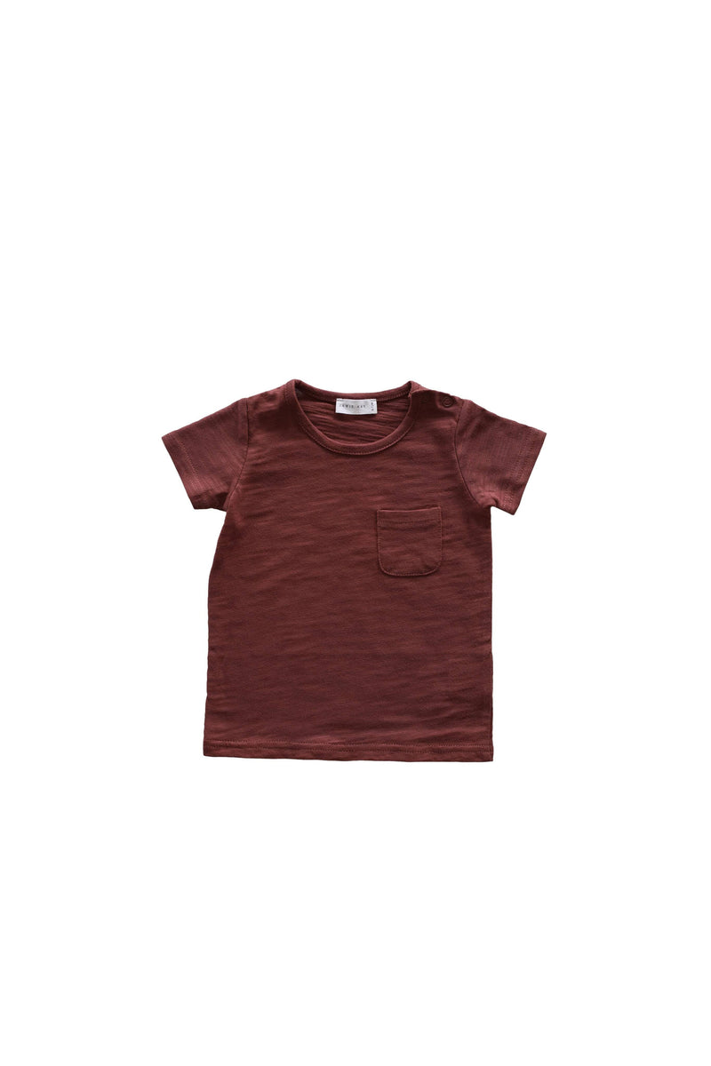 Slub Cotton Sam Tee Clay