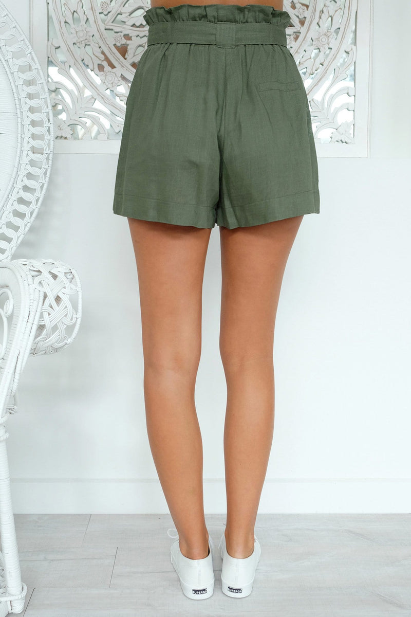 Snow Flake Short Khaki