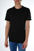 Solid Short Sleeve Tee Black